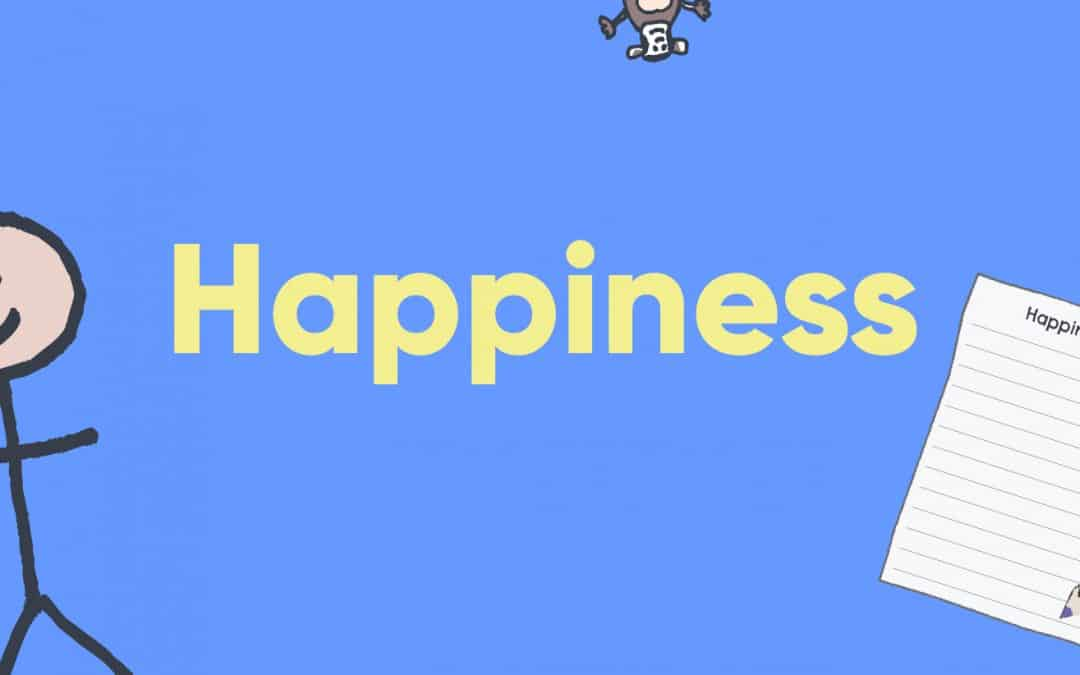 Happiness through The Chimp Model