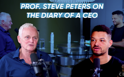 Prof Steve Peters on Diary of a CEO with Steven Bartlett.
